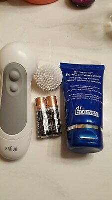 Dr Brandt Poredermabrasion, Braun electric Facial Cleaner All New