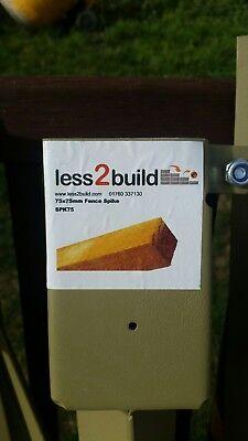 75x75 Fence Spikesx10