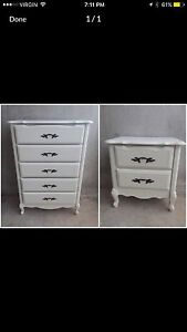 French Provincial Bedroom Set $300