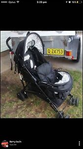 Steelcraft twin tandem pram Latham Belconnen Area Preview