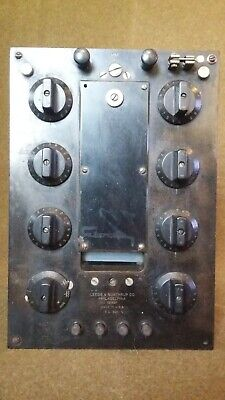 Vintage Leeds Northrup Ks 3011 Wheatstone Bridge Resistance Lab Test Equipment