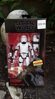 Star Wars The Black Series first order flametrooper. New