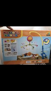 Musical mobile with toys