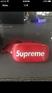 UA Supreme x Louis Vuitton waist bag , comes with box