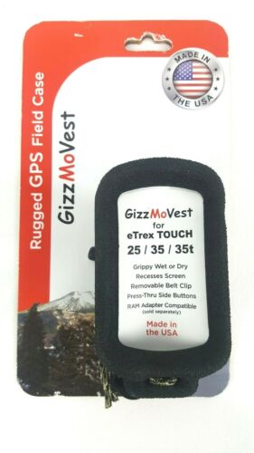 GizzMoVest for Etrex Touch 25/35/35T GPS Field Case Made in USA