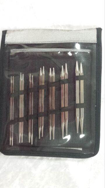 Knit Pro Nova Cubics Interchangeable Deluxe Needle Set N012361 SQUARE TIPS