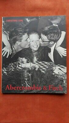 A&F QUARTERLY CHRISTMAS 1998 CATALOG Abercrombie & Fitch Bruce Weber Hot Males