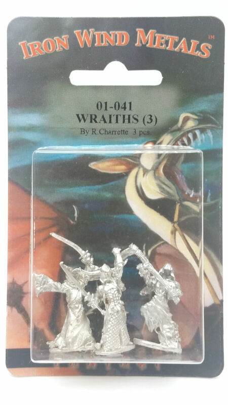 Ral Partha Wraiths (3 Pieces) #01-041 Unpainted Classic Fantasy RPG Metal Figure