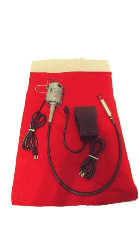 FOREDOM Series S Rotary Tool w/Foot Pedal (Fully Functioning and Clean)