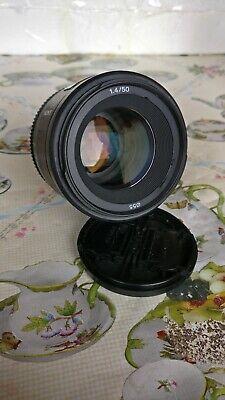 Sony 50mm f/1.4 A-mount Prime Lens (SAL50F14)