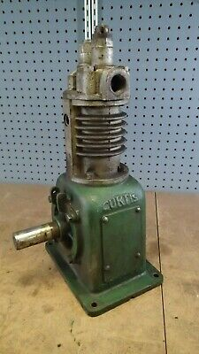 Antique Curtis 1548 Air Compressor For Hit Miss Engine 2 18 X 2 58