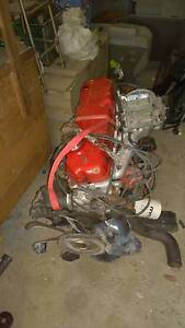 alloy head 250 ford engine complete with holley and T5 gear box Wyee Lake Macquarie Area Preview