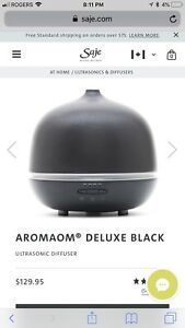 AROMAOM® DELUXE BLACK by Saje
