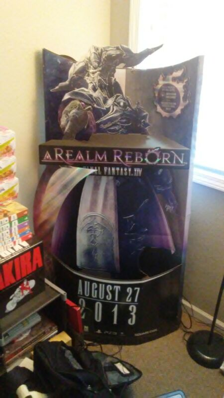 Final Fantasy XIV Display Standee *RARE*