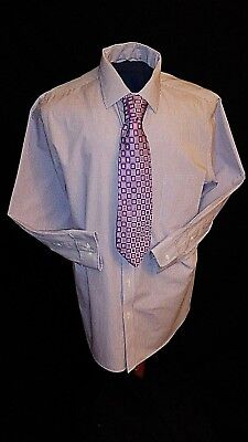 Croft and Barrow Classic Fit, Easy Care, Men's Dress Shirt, Size XL, 17.5, 32/33