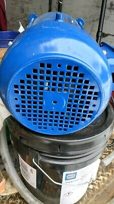 Electric Motor 3hp 3 Phase New Take Out Westinghouse