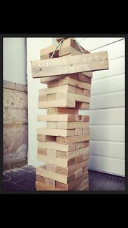 Giant Jenga and more from $40 5 day Hire
