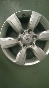 Toyota PRADO GXL 150 series Genuine SET of 4 alloy wheels 2014-2015 17x7.5 NEW