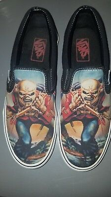 Iron Maiden Trooper Vans