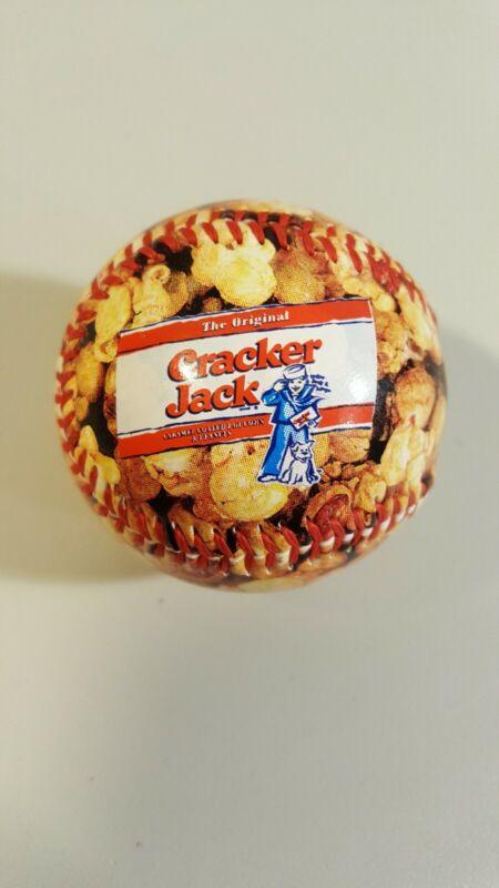 Cracker Jack Baseball Rawlings Red stitching Canadian Promotional Ball