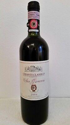"Rotwein Chianti Classico ""Gallo Nero"" aus der Toskana, Jahrgang 2000"