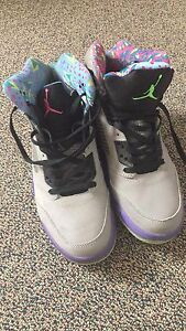 Grey bel Air Jordan 5.  $130.  Price is negotiable