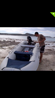 Dhuwest inflatable 10 foot tender