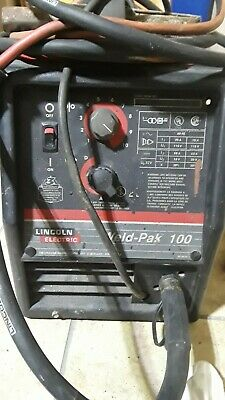Lincoln Electric Weld Pak 100hd Mig Welder 115v 10965