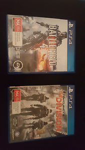 PS4 Games for sale Woodville Gardens Port Adelaide Area Preview