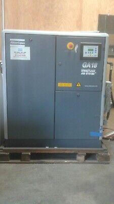 Atlas Ga 18 25 Hp 132 Psi Max Commercial Air Compressor 2003