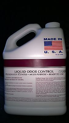 1 GALLON VANILLA ODOR ELIMINATOR CONTROL AIR FRESHENER CATS DOGS PET URINE SMOKE