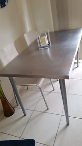 Stainless steel table Margate Redcliffe Area Preview