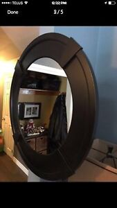 Large Cappuccino Mirror