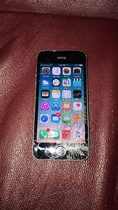 Iphone 5s (Bell) vitre fonctionel