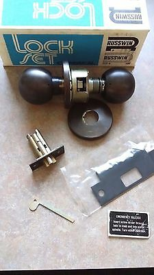 Locksmith Russwin 4320 Avalon Us10b Grade 2 Privacy 2 34 Backset Made In Usa