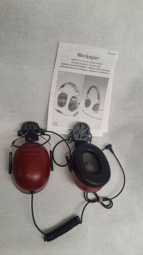 (NEW) Peltor RMN4054 Receive-Only Hard-Hat Mount Headset