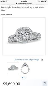 Vera Wang Love Collection Diamond Ring