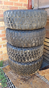 Mud tyres 33inch Hallam Casey Area Preview