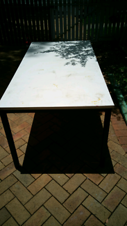 Bench table.