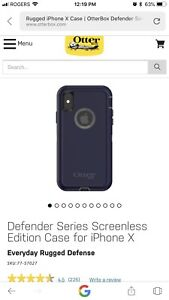 Iphone x otter box case