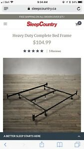 Heavy duty bed frames
