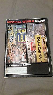 Medical World News October 9  1964 Vg