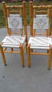 Pair of decorative  wicker / cane chairs  $50 Cessnock Cessnock Area Preview