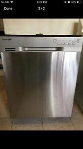 Can deliver SAMSUNG Stainless in & out Dishwasher