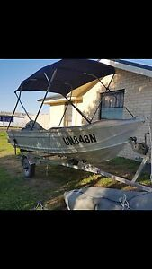 14ft Tinnie with 15 crudjohnson outboard Cessnock Cessnock Area Preview