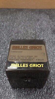 Melles Griot 03bsc009 25.4 X 25.4 X 25.4 Cube Beam Splitter