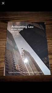 Accounting law book Sheridan college semster 4 books