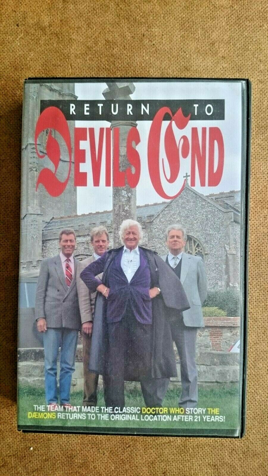 Doctor Who's Return To Devil's End (VHS, 1997) - Big Case Edition