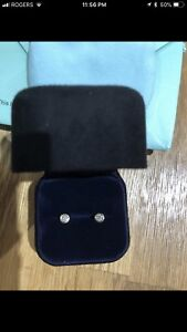Tiffany and co gold diamond by the yard earrings