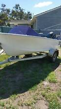 13ft fbglass boat 40hp forward controls Rokeby Clarence Area Preview
